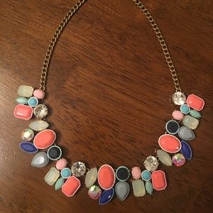 J. Crew Factory gemstone necklace